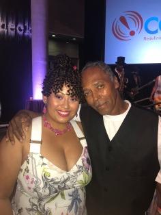 Trina Greene Brown & father