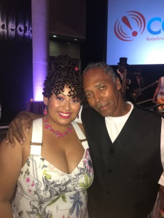 Trina Greene Brown & father