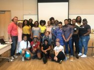 Participants from our Black Mental Health & Healing Justice Training in Los Angeles, CA.