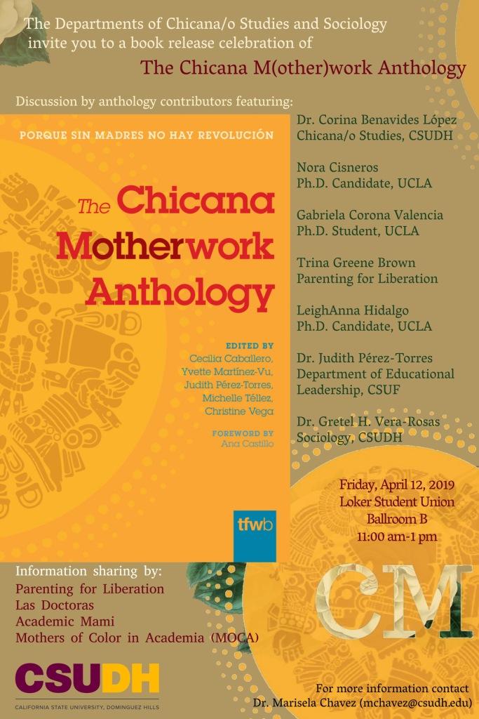 Chicana Motherwork Event Flyer For Social Media